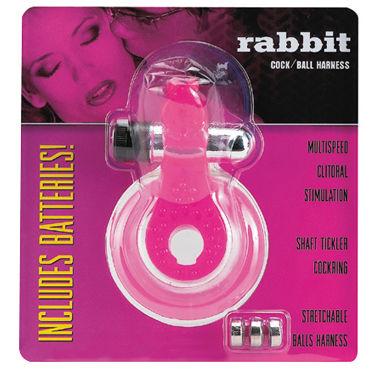 Gopaldas Rabbit Эрекционное кольцо с клиторальным стимулятором