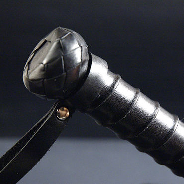 Beastly Толстый Витень-Битень, черный Флогер для BDSM
