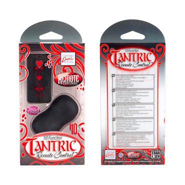 California Exotic Tantric Remote Control, красно-черный Вибромассажер эргономичной формы