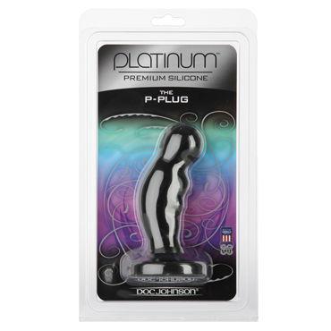 Doc Johnson Platinum P-plug, черный Стимулятор простаты