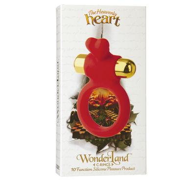 Doc Johnson Wonder Land The Heavenly Heart Эрекционное кольцо с виброэлементом