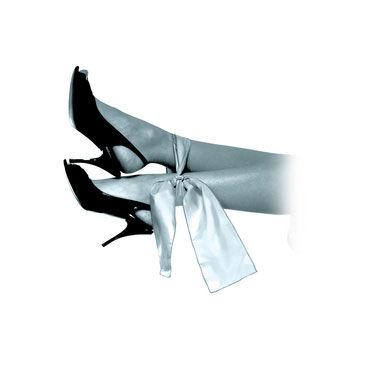 Pipedream Limited Edition Grey Silk Ties Шелковые ленты для фиксации