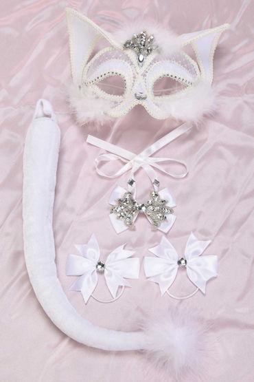 Shirley Белая кошка Комплект для озорных игр