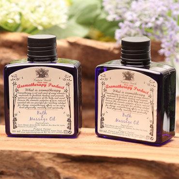 Nature Touch Bath & Massage Oil, 60мл Массажное масло с эфирными маслами пачули, лаванды, иланг-иланга