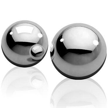 Pipedream Metal Worx Ben-Wa Balls, 18мм Металлические вагинальные шарики