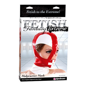 Pipedream Malpractice Mask, Латексная маска-шлем