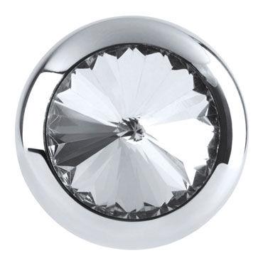 Pipedream Metal Worx Mini Luv Plug Маленькая анальная втулка декорированная кристалом