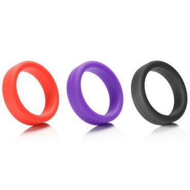 Tantus Эрекционное кольцо, черное Силиконовое