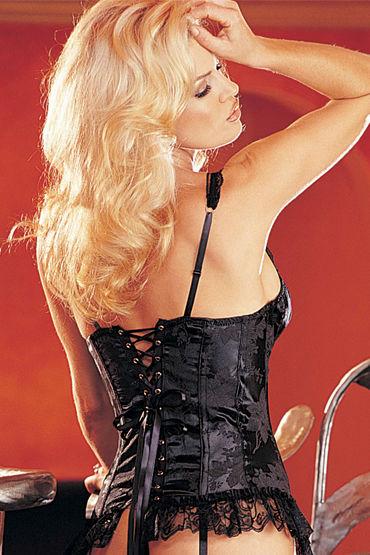 Shirley корсет, черный С изысканным кружевом