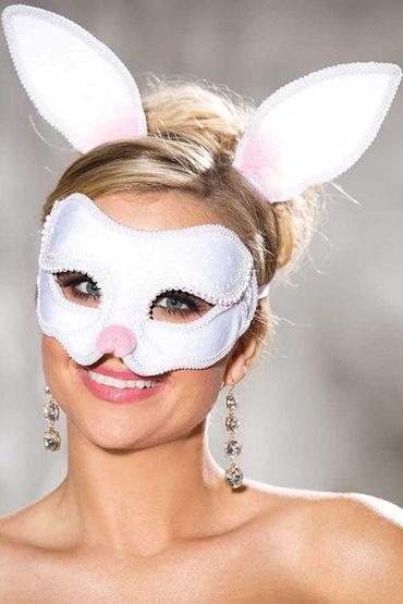 Shirley Зайка Карнавальная маска и ушки на ободке