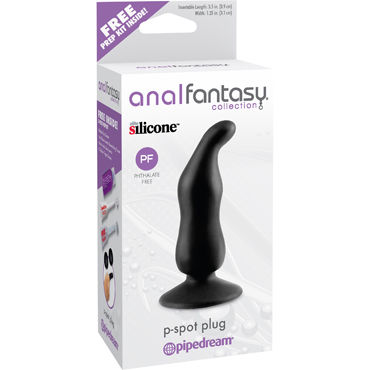 Pipedream Anal Fantasy Collection P-Spot Plug, Стимулятор простаты