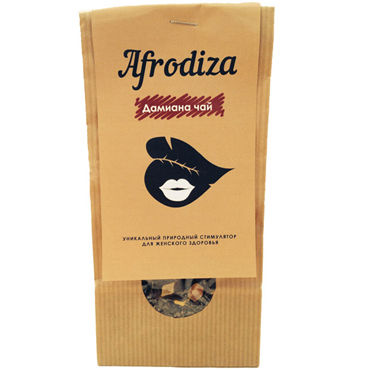 Afrodiza Дамиана, 50 гр, Чай для женского здоровья от condom-shop.ru