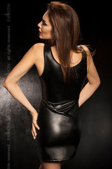 Passion Carissa, черный Комбинация со шнуровкой и стринги