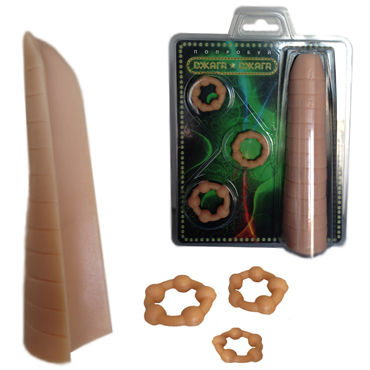 Mif эректор, Эластичная пластина и три кольца