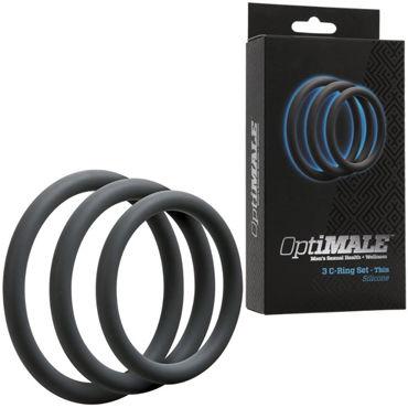 Doc Johnson Optimale C-Ring Set Thin, �����, ����� ������ ����������� �����, 3 ��