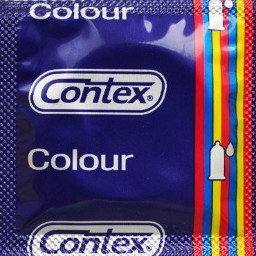 Contex Colour, Презервативы разноцветные - Упаковка по 3 шт.