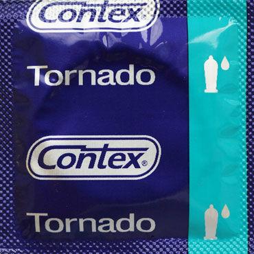 Contex Tornado, Презервативы анатомической формы - Упаковка по 3 шт.