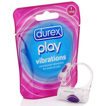 Durex Play Vibrations Эрекционное кольцо с вибрацией