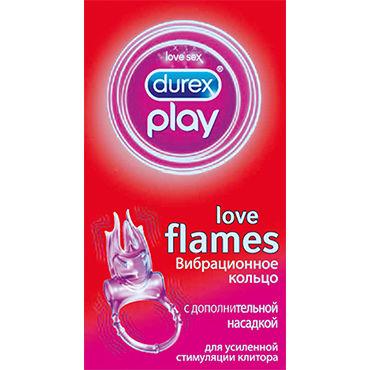 Durex Play Flames Эрекционное кольцо с вибрацией