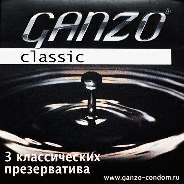 Ganzo Classic, Презервативы классические - Упаковка по 3 шт.