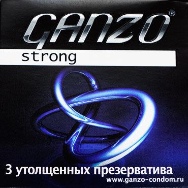 Ganzo Strong, Презервативы особо прочные - Упаковка по 3 шт.