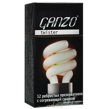 Ganzo Twister Презервативы анатомической формы