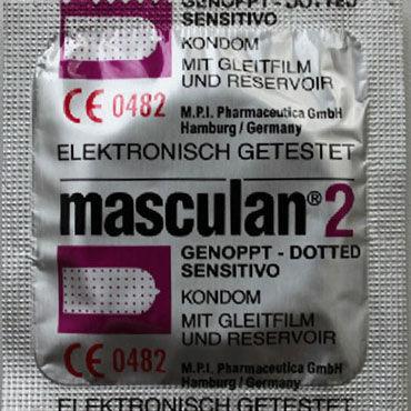 Masculan Classic Dotty Презервативы с пупырышками