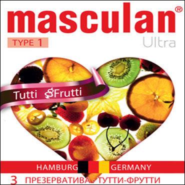 Masculan Ultra Tutty Frutty Презервативы ароматизированные