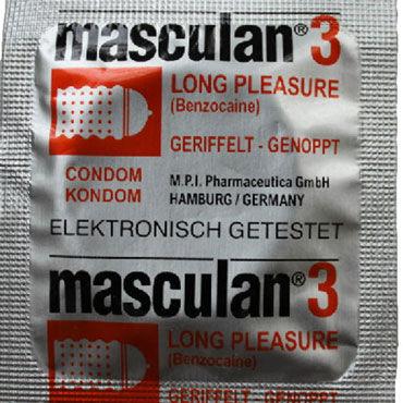 Masculan Ultra Long Pleasure Презервативы продлевающие