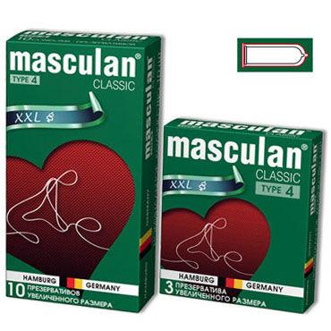 Masculan Classic XXL Презервативы увеличенного размера