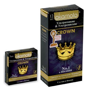 Okamoto Crown Презервативы ультратонкие