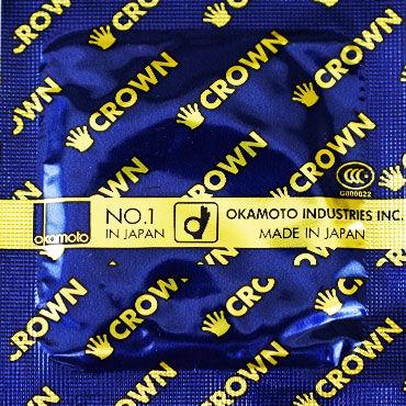 Okamoto Crown, Ультратонкие - Упаковка по 3 шт.