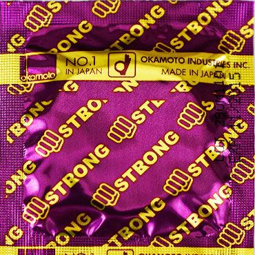 Okamoto Strong, Презервативы особо прочные - Упаковка по 10 шт. (выгоднее на 10%)