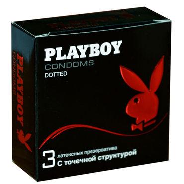 Playboy Dotted Презервативы с точечной структурой