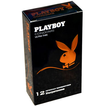 Playboy Ultra Thin Презервативы латексные ультратонкие