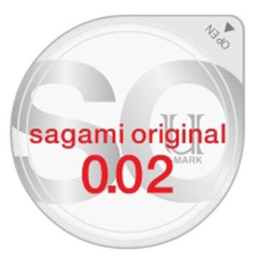Sagami Original 002, Презервативы самые тонкие в мире - Упаковка по 2 шт.