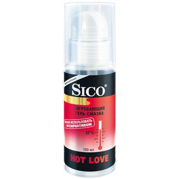 Sico Hot Love, 100 мл Согревающий и возбуждающий гель