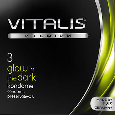 Vitalis Glow In The Dark, ���������� � ������� - �������� �� 3 ��.