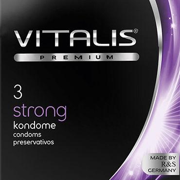 Vitalis Strong, Презервативы особо прочные - Упаковка по 3 шт.