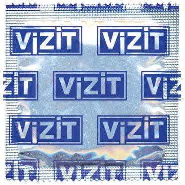 Vizit Hi-Tech Pleasure Презервативы анатомической формы с кольцами и пупырышками