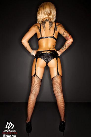 Demoniq Amanda Комплект с поясом из матовой кожи