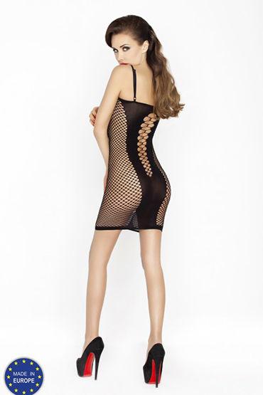 Passion Соблазн, черное Платье в сетку
