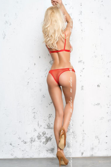 Me Seduce Nina, красный Комплект с открытой грудью