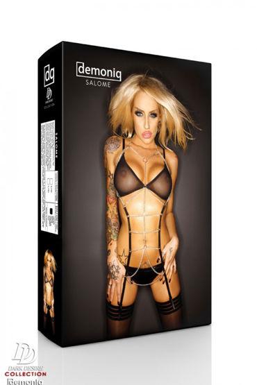 Demoniq Dark Desire Salome Premium Комплект белья с цепями