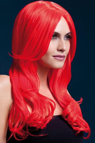 Fever Khloe Wig Neon Red Парик, с длинными волосами