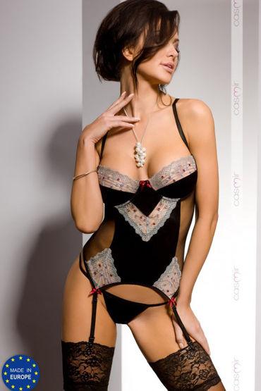 Casmir Marica corset, черный Корсаж и трусики