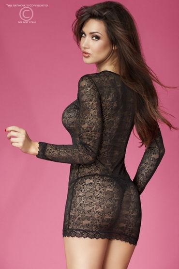 ChiliRose Кружевное платье С длинными рукавами
