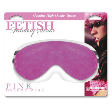 Pipedream Fetish Fantasy Pink Delux Mask Засмшевая маска на глаза