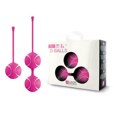 LoversPremium O-balls Set, розовый Набор вагинальных шариков