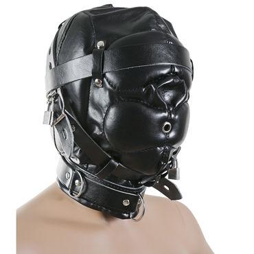 Пикантные штучки БДСМ-маска закрытая С маленьким отверстием